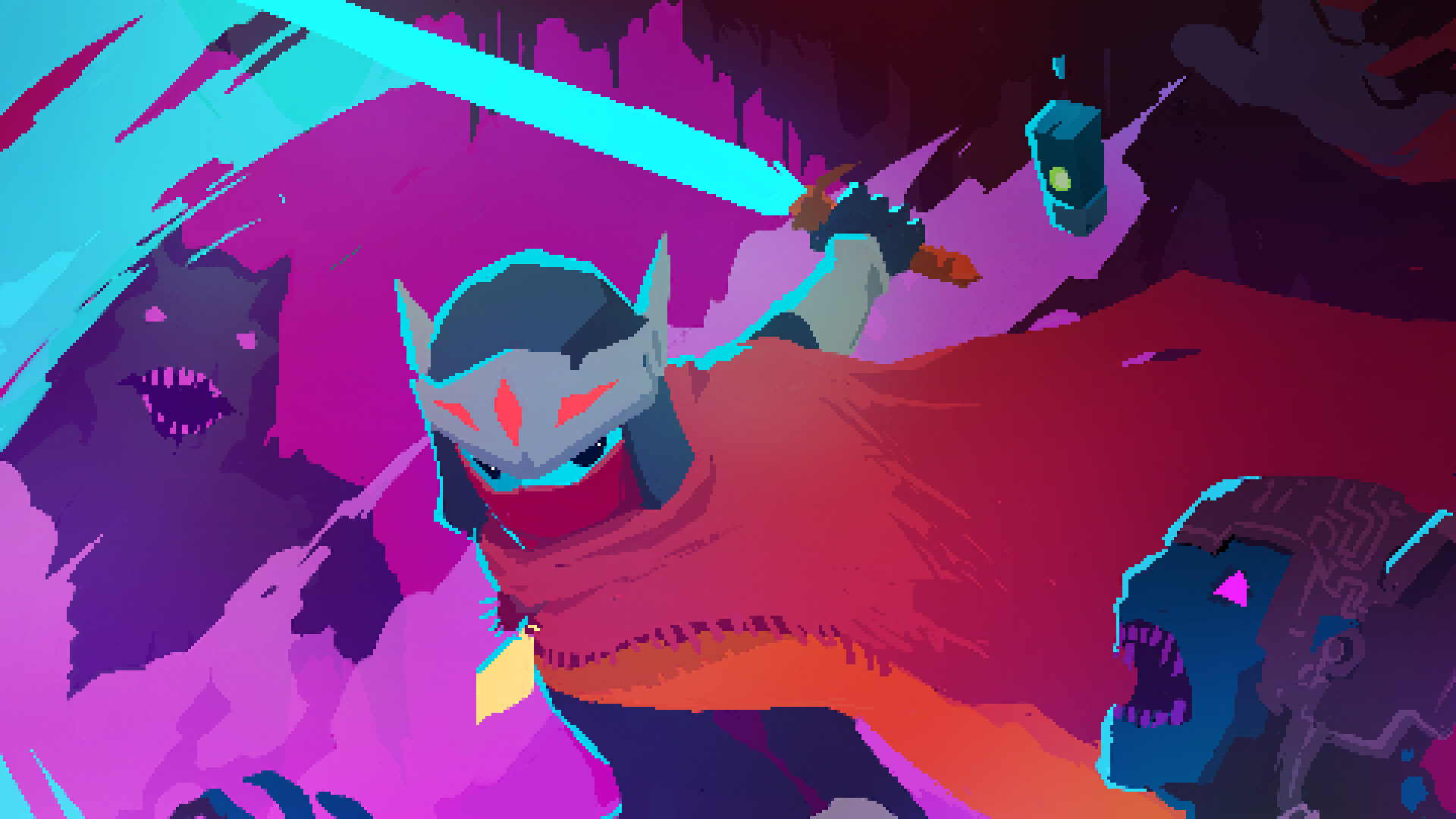 Brawlout is coming to Switch, adding the Hyper Light Drifter protagonist screenshot