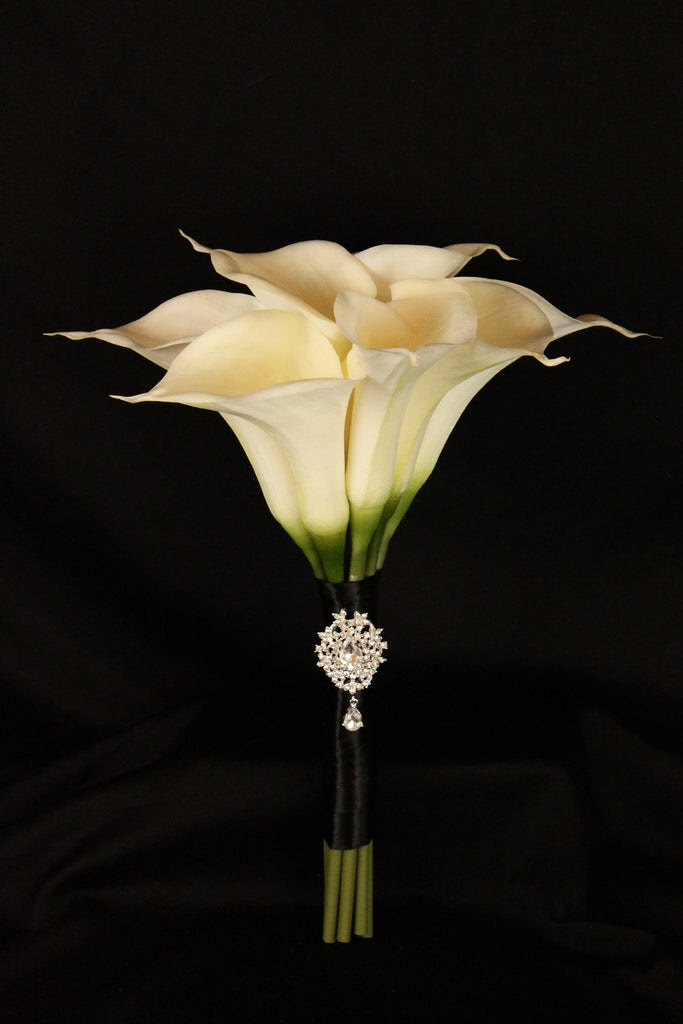 Large Calla Lily Wedding Bouquet Collection Detail Wedding Design