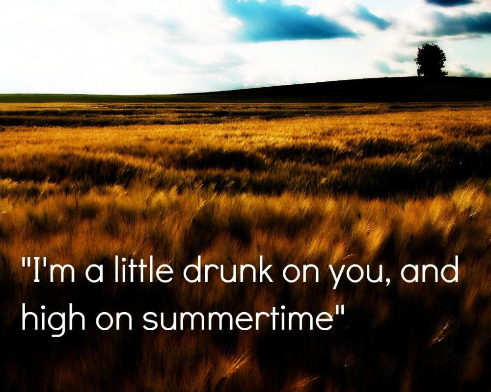 Country Song Quote About Summer Quote Number 600949 Picture Quotes