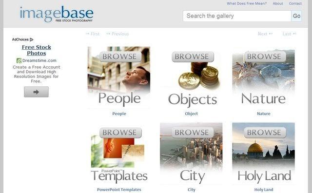 Imagebase, banco de imágenes libres para usar en nuestros proyectos