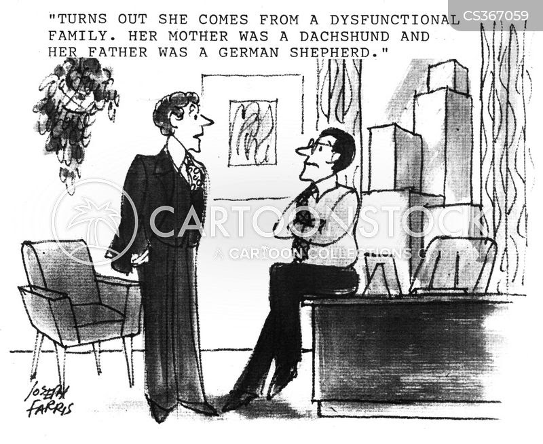 Dysfunctional Families Cartoons and Comics - funny ...