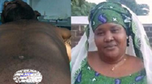 Lady pours acid on her cheating husband