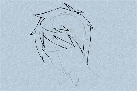 como desenhar cabelo  estilo anime vripmaster