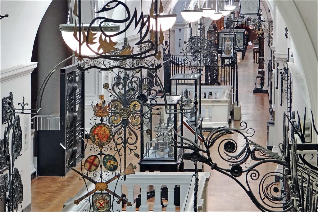 Le fer au Victoria and Albert Museum (Londres)