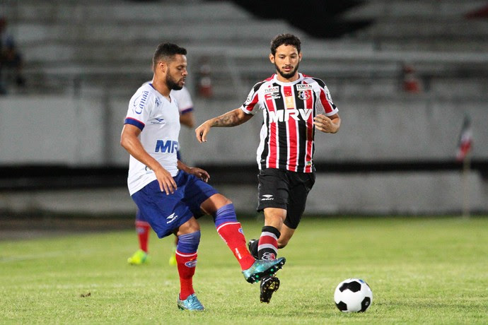 Santa Cruz x Bahia Copa do Nordeste (Foto: Marlon Costa / Pernambuco Press)