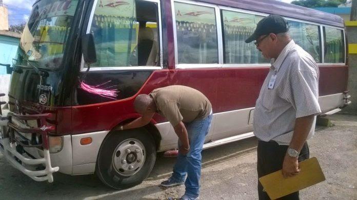 La OTTT inspeccionará 3,600 autobuses para evitar accidentes en la Navidad
