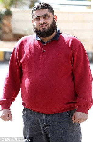 Sibling: Qatada's brother Ibrahim Othman has said that the cleric is the 'happiest man in England'