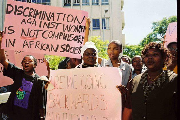 Women activists demanding a fair share of power. Credit: Mercedes Sayagues/IPS