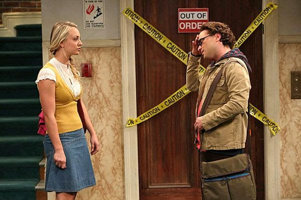 Penny (Kaley Cuoco) accidentally blurts out the three words that Leonard (Johnny Galecki) has long wanted to hear from her in 'The 43 Peculiarity' episode of THE BIG BANG THEORY.