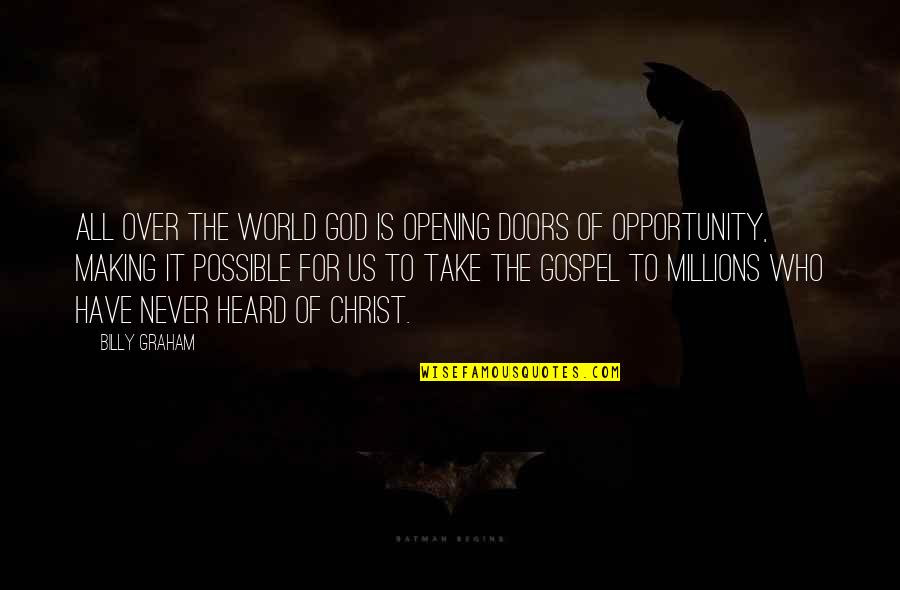 Opening Doors Of Opportunity Quotes Top 14 Famous Quotes About