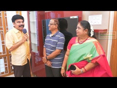 Actor Powerstar Interviewing Our Client Mrs. Latha Sankar Mylapore  P-2