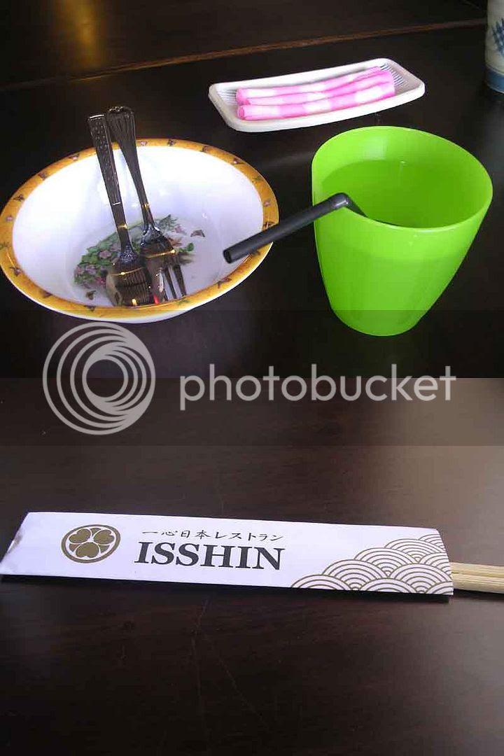 Isshin chopsticks?!