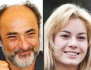 Alessandro Haber, 64 anni, e Lucia Lavia, 19