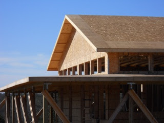 House Roof Gables Trusses Siding