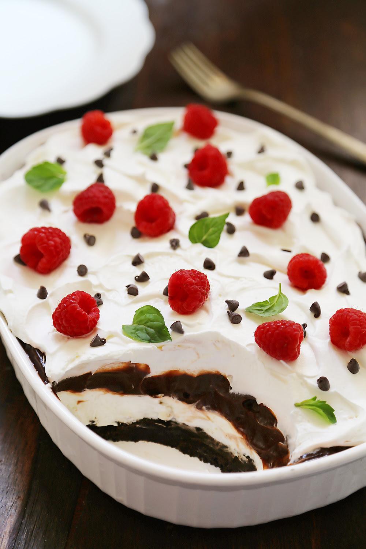 No-Bake Chocolate Layer Dessert
