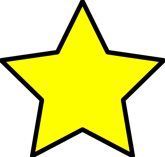 Star With Transparent Background   Free download on ClipArtMag