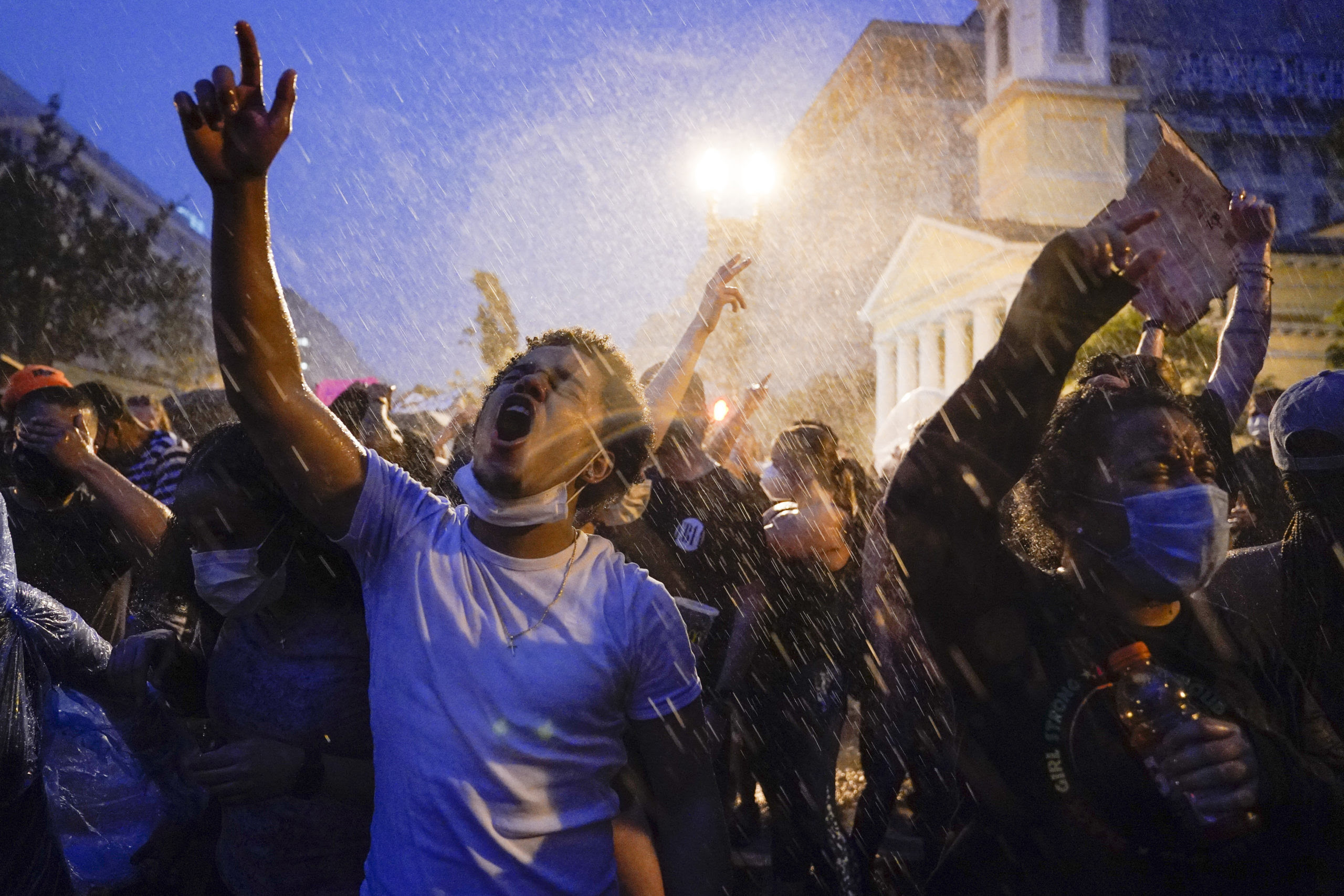 One topic dominated Pulitzer-winning work: policing in America