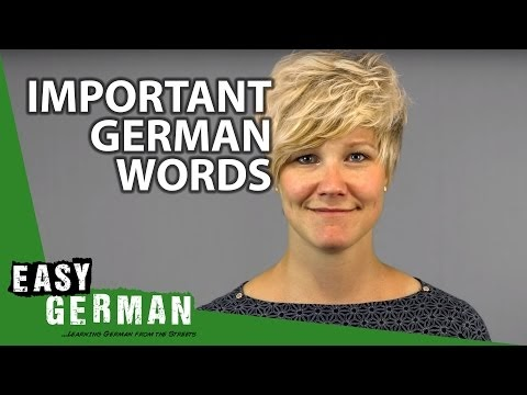 بالفيديو 10 كلمات المانية يجب عليك ان تعرفها