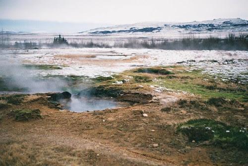 iceland - geyser