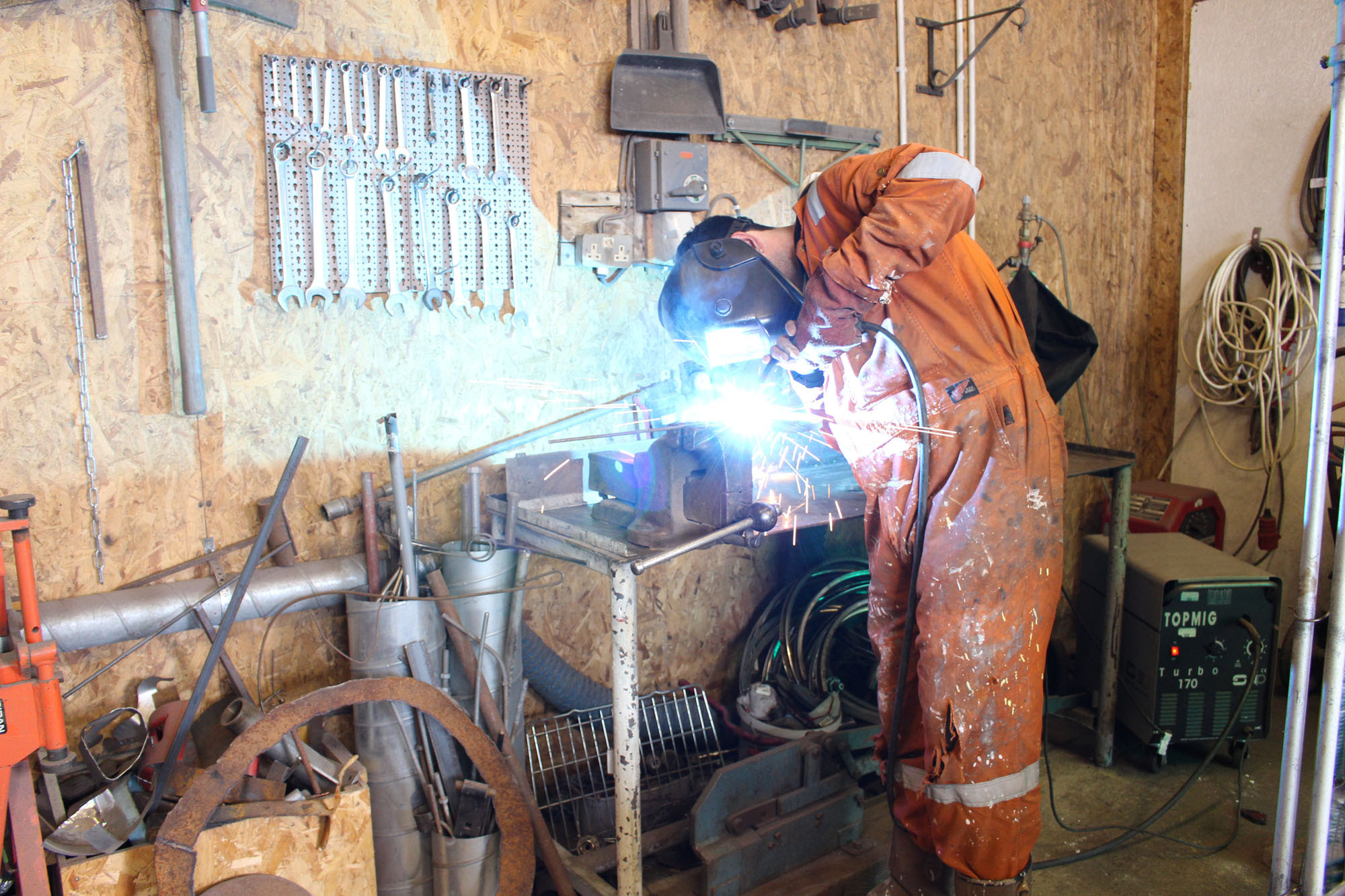 Introduction To Metalwork And Welding Scottish Sculpture Workshop