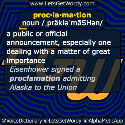 Proclamation 09/25/2013 GFX Definition
