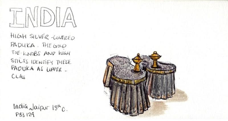 Toronto Urban Sketching Bata Shoe Museum