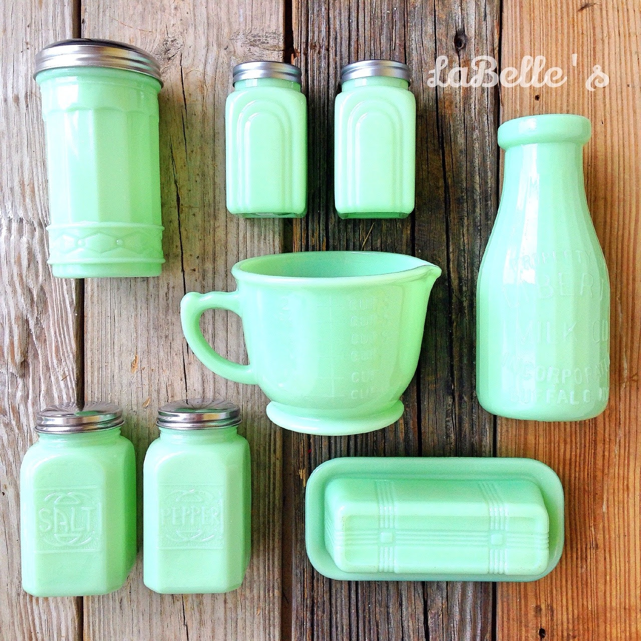 Jadeite Milk Glass