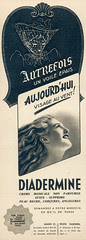 (Petite pub) Diadermine Marie-Claire n°103 -17 février 1939
