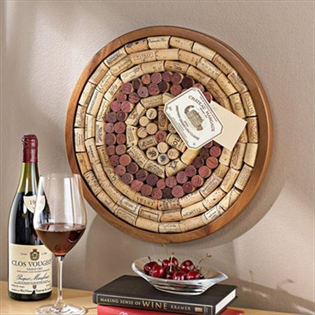 Wine Enthusiast Wine Cork Lazy Susan Kit Wine Enthusiast Kitchen