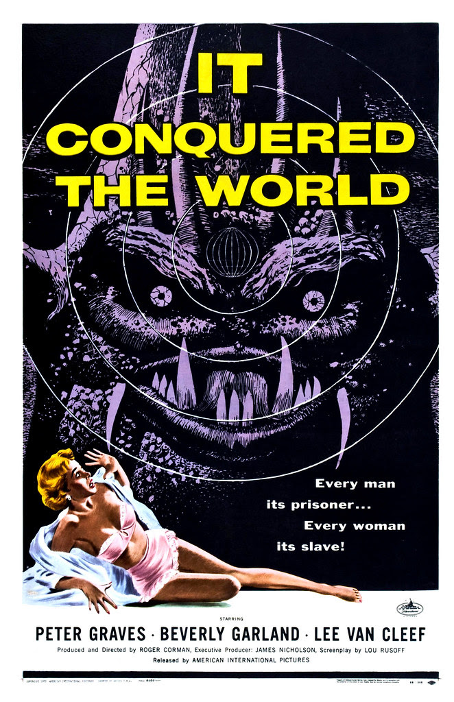Albert Kallis - It Conquered the World (American International, 1956) One Sheet