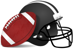Football by gnokii - american, clip art, clipart, football, game, playing, recreation, sport, sports,