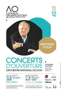 Affiche auditorium 2011
