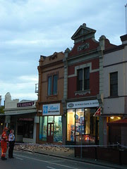 A Gable falls in Port Melbourne