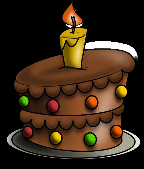 Birthday Cake Clipart Illustrations Royaltyfree Vector