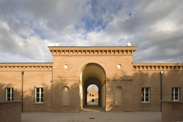 Entrada do pátio central do labirinto (Foto: Mauro Davoli/Divulgação)