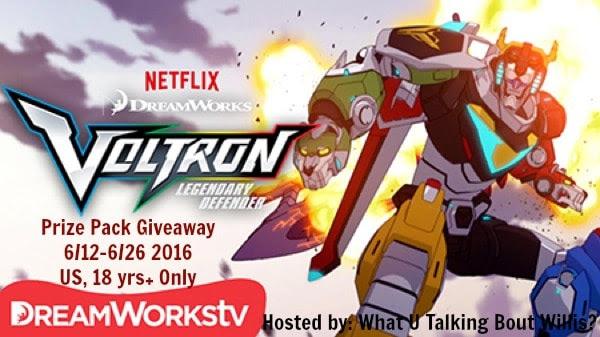 Voltron Prize Pack Giveaway voltron legendary defender