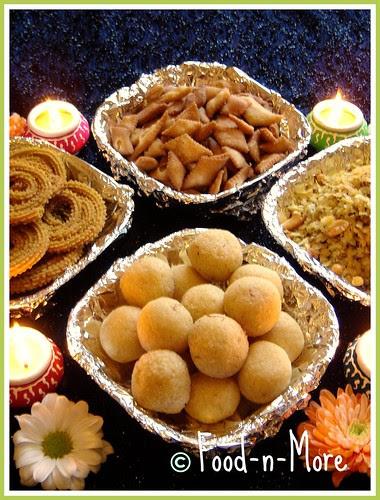 Diwali Faraal (Special Diwali Snacks)