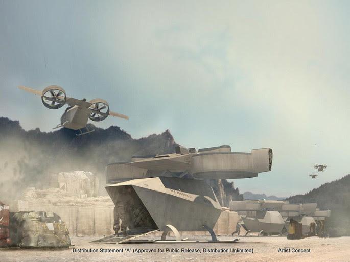 Operaciones Battlefield ARES Darpa
