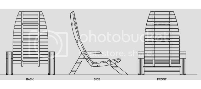 adirondack chair autocad drawing | Woodworking Business for