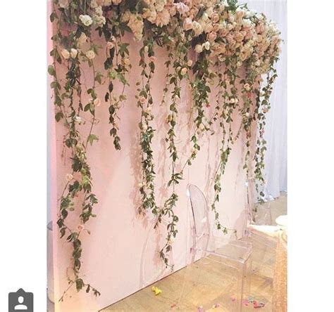 140 best hanging flowers & backdrops images on Pinterest