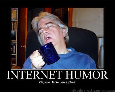 Motivational poster: INTERNET HUMOR