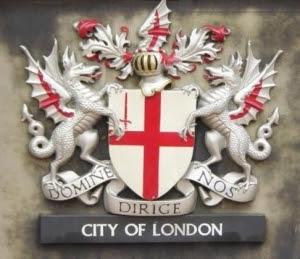 Brasão da cidade de Londres