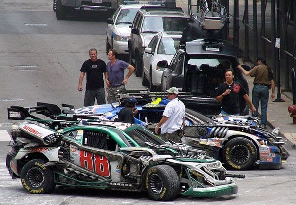 Will these NASCAR vehicles be Stunticons in TRANSFORMERS 3?