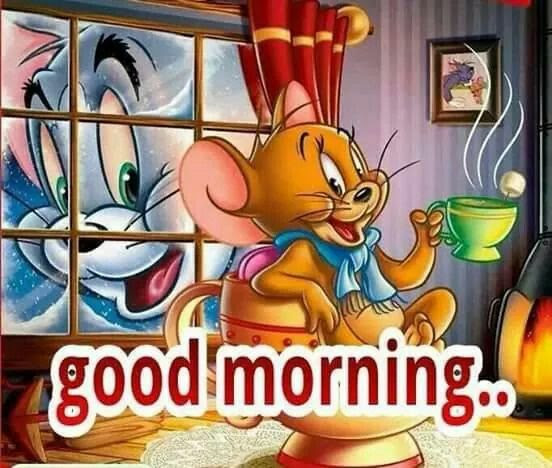 Good Morning Tom And Jerry Quote Pictures Photos And Images For