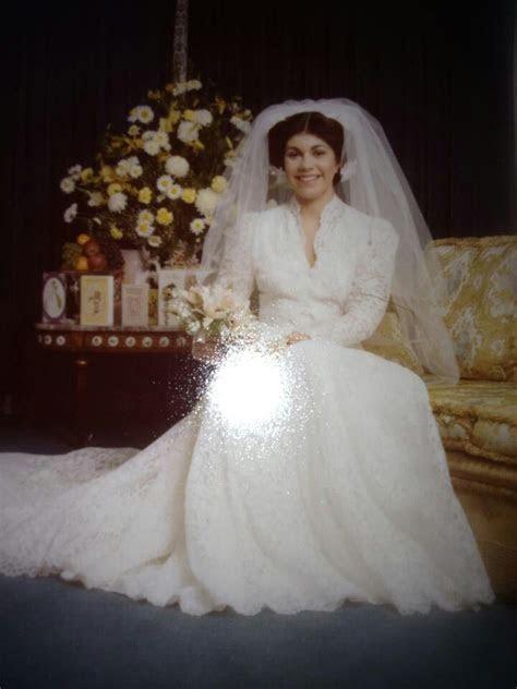 17 Best images about VIntage Wedding Dresses 1970   on