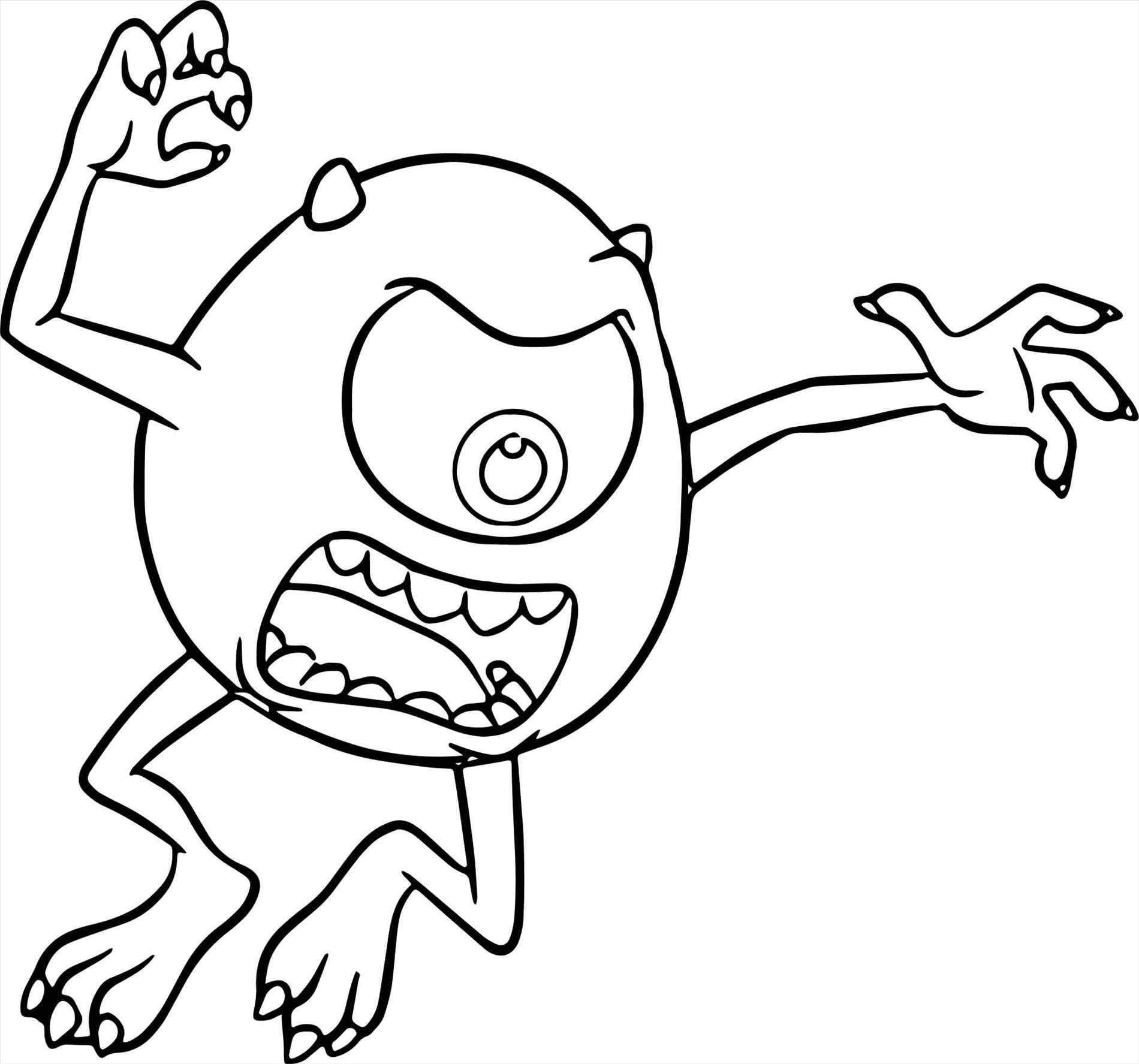 Monsters Inc Characters Coloring Pages at GetColorings.com ...