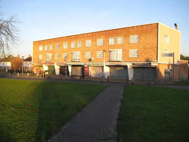 West Drayton Laurel Lane Shops Nigel Cox Cc By Sa 2 0