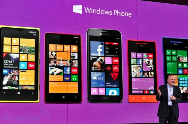 Microsoft selling four times as many Windows Phones as last year, won't say what that means