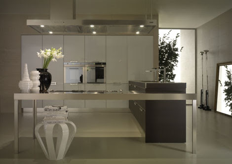 Contemporary Kitchen from Salvarani - the Pk kitchen