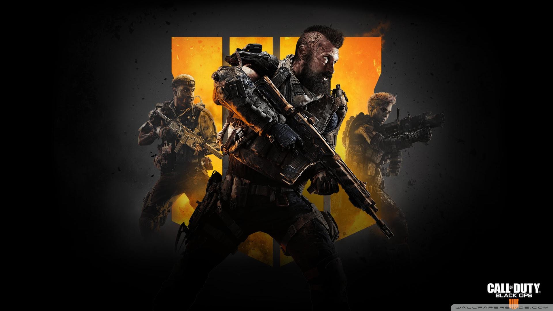 Call Of Duty Black Ops 4 Ultra Hd Desktop Background Wallpaper For
